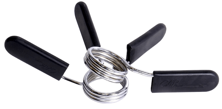 CAP Barbell Olympic 2-Inch Spring Clip Collars