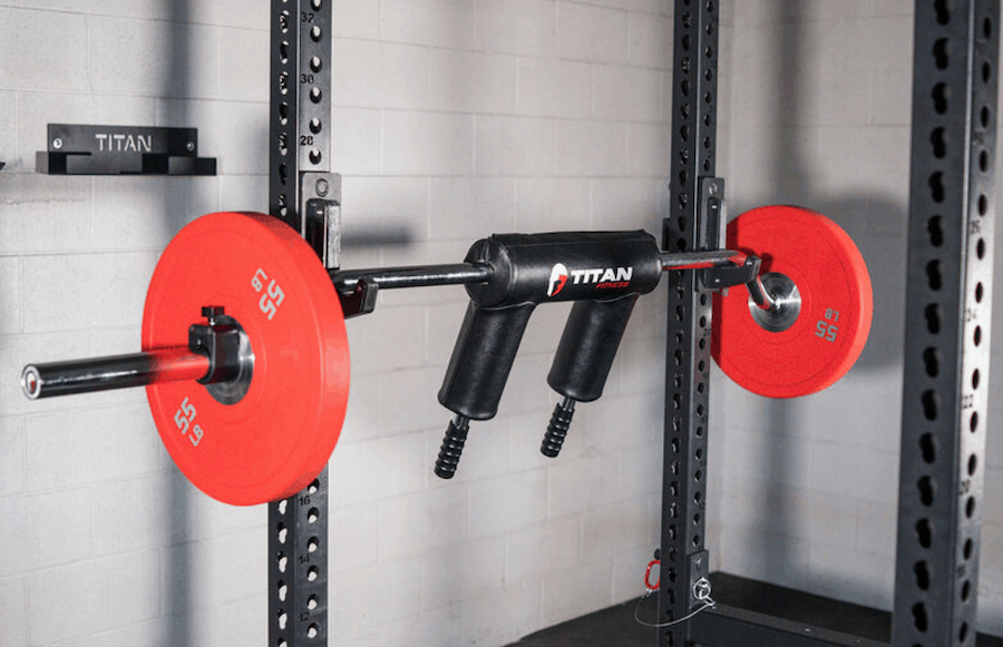 Titan Fitness Safety Squat Olympic Bar V2