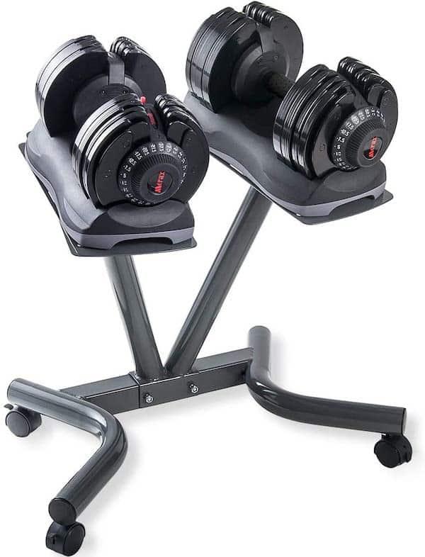Merax Deluxe 71.5 pounds Adjustable Dumbbells Set