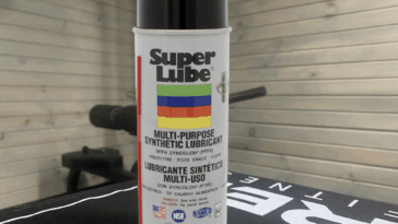 Super Lube multi-purpose synthetic lubricant with syncolon (PTFE)
