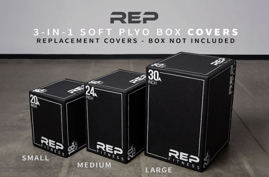 Rep Fitness 3-in-1 Plyo Boxes