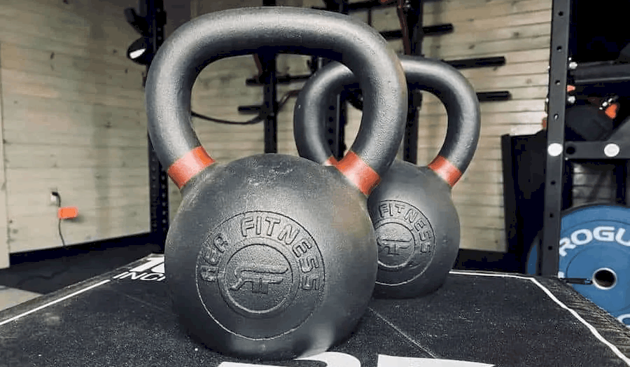 Rep Fitness Kettlebells with Powder Coat