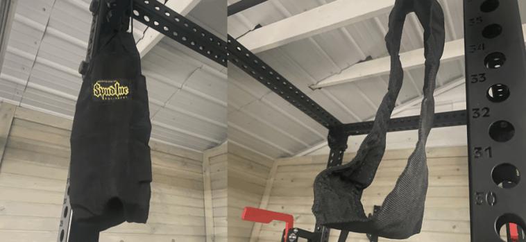 Spud Hanging Abdominal Straps