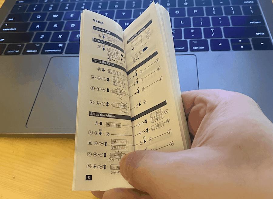 Timebirds Instruction book